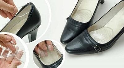 Ngoài ra có thể sử dụng đệm mũi để khắc chế giày lười bị rộng