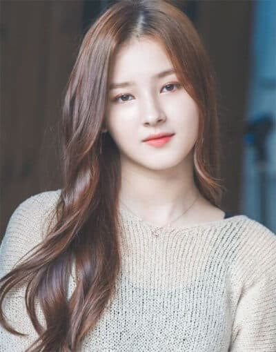 Tóc dài Hàn Quốc