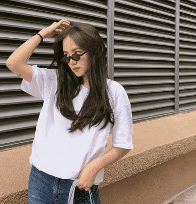 Kiểu tóc ép cụp dài
