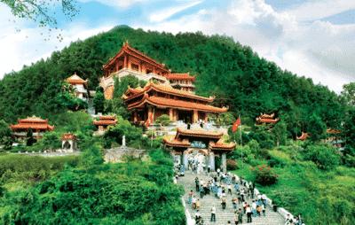 Khung cảnh Thiền viện Tây Thiên ở Vĩnh Phúc