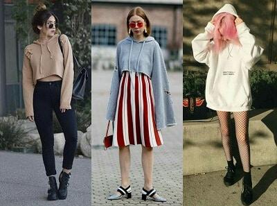 Cách phối đồ với áo hoodie nữ đẹp nhất năm 2021