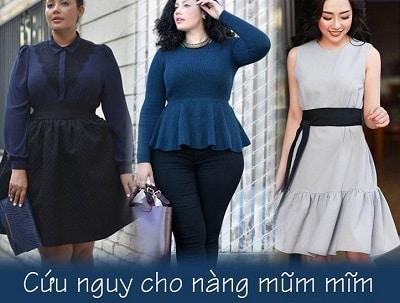 Phong cách thon gọn cho người béo