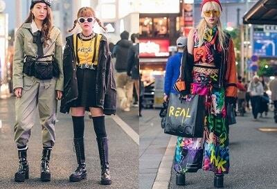 """Phong cách """"harajuku"""""""