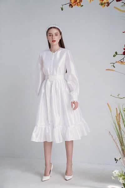 Ren shop - chủ yếu mang đến chất liệu ren cho mẫu váy thiết kế