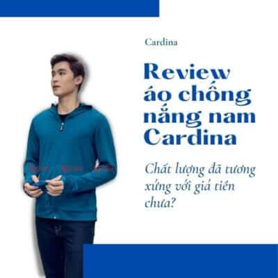 Áo chống nắng nam Cardina chất lượng ra sao?