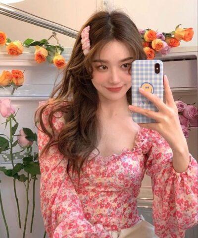 Váy voan Tết